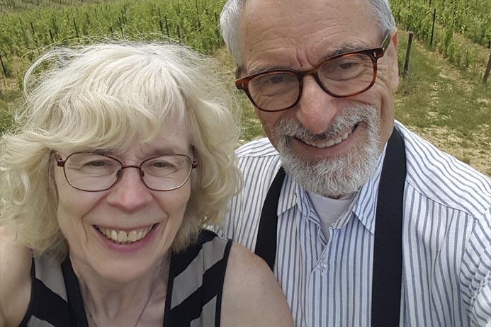 Hans och Marit Broman.